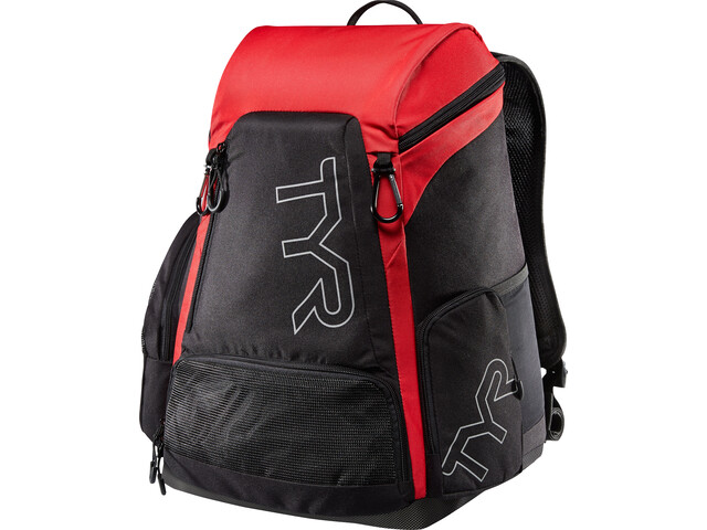 TYR Alliance 30l Selkäreppu, black/red